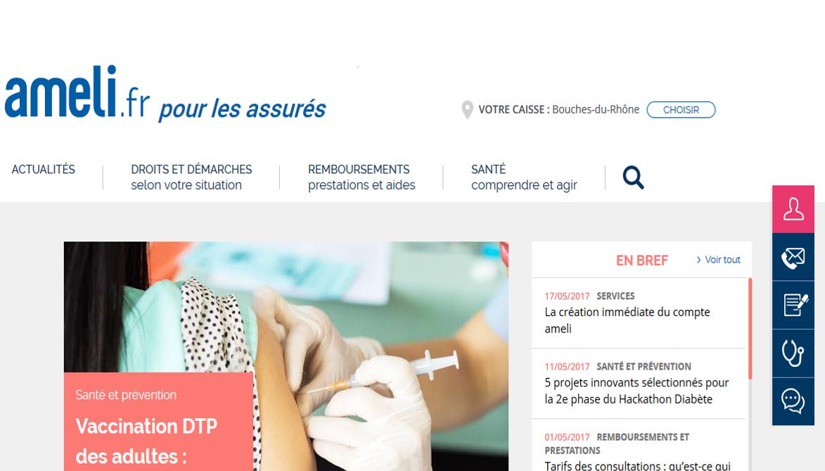 Le nouveau site ameli.fr : plus simple et plus moderne