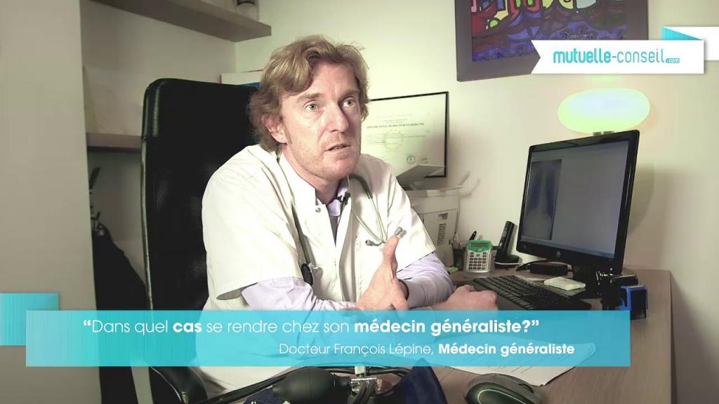 Dans quels cas se rendre chez un médecin généraliste ?