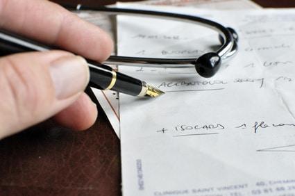 Ordonnance médicale à l'étranger